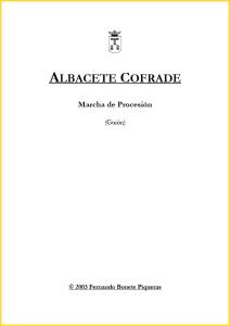 Guión Albacete Cofrade