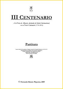 III CENTENARIO. Partitura del pasodoble de Fernando Bonete.pdf